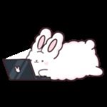 Кролик Супчик белый: cтикер №47