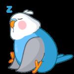 Голубой Птенчик: cтикер №2