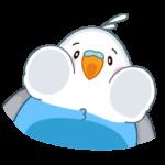 Голубой Птенчик: cтикер №20