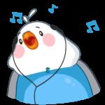 Голубой Птенчик: cтикер №22