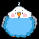 Голубой Птенчик: cтикер №31