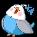 Голубой Птенчик: cтикер №36