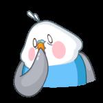 Голубой Птенчик: cтикер №41