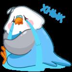 Голубой Птенчик: cтикер №44