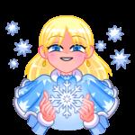 Снегурка: cтикер №13