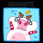 Снежная Пиби: cтикер №33