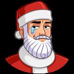 Секретный Санта: cтикер №1