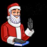 Секретный Санта: cтикер №3