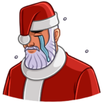 Секретный Санта: cтикер №4