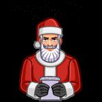 Секретный Санта: cтикер №9
