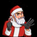 Секретный Санта: cтикер №11