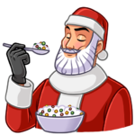 Секретный Санта: cтикер №24