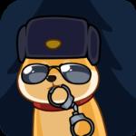 Акио — помощник Санты: cтикер №29