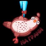 Птичка: cтикер №11