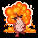 Птичка: cтикер №14