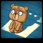 Медведь Женя: cтикер №11
