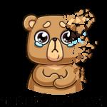 Медведь Женя: cтикер №14