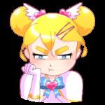 Мимико-тян: cтикер №3