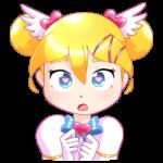 Мимико-тян: cтикер №4