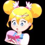 Мимико-тян: cтикер №7