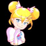 Мимико-тян: cтикер №10