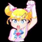 Мимико-тян: cтикер №15