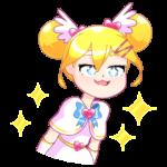 Мимико-тян: cтикер №17