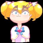Мимико-тян: cтикер №20