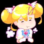 Мимико-тян: cтикер №21