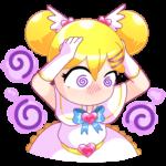 Мимико-тян: cтикер №22