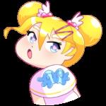 Мимико-тян: cтикер №28
