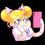 Мимико-тян: cтикер №39