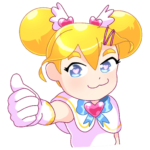 Мимико-тян: cтикер №41