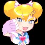 Мимико-тян: cтикер №43