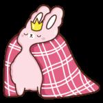 Кролик Супчик розовый: cтикер №20