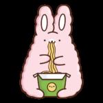 Кролик Супчик розовый: cтикер №40
