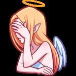 Ангелица: cтикер №28