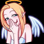 Ангелица: cтикер №35