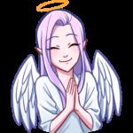 Ангелица Вайолет: cтикер №30