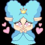 Принцесса Элеонора: cтикер №19