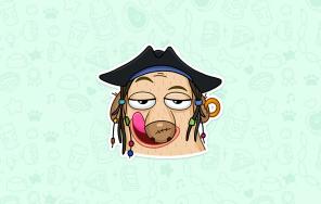 Стикеры «Пират Дигги»