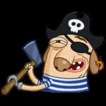 Пират Дигги: cтикер №2