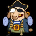 Пират Дигги: cтикер №3