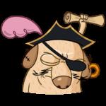 Пират Дигги: cтикер №5