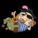 Пират Дигги: cтикер №7