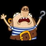 Пират Дигги: cтикер №14