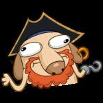 Пират Дигги: cтикер №17