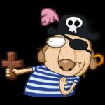 Пират Дигги: cтикер №21