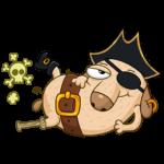 Пират Дигги: cтикер №25