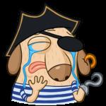 Пират Дигги: cтикер №27